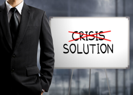 Remove the Crisis and come up with a solution image